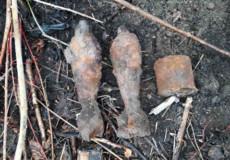 У Судилкові знайшли три боєприпаси часів Другої світової війни