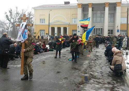 У Славуті поховали захисника з позивним «Кум»