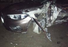У Славуті п'яний водій скоїв ДТП та залишив вулицю без освітлення