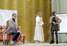У Славуті з аншлагом пройшла перша вистава театральної студії «Терен»