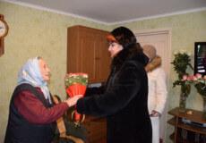 У Шепетівці мати-героїня відзначила 90-річний ювілей