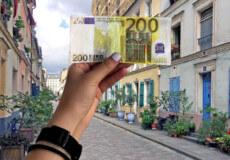 Так у моєму гаманці з'явилася 200-єврова банкнота