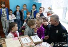 Дітлахи Полонщини отримали бандерольки дружби