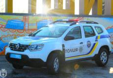 Нетішинські поліцейські отримали 3 автівки, які ще пройшли дезінфекцію