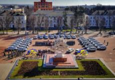 Грицівська та Ленковецька ОТГ отримали автівки в рамках проєкту «Поліцейський офіцер громади»