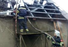 Через порушення правил пожежної безпеки на Шепетівщині згорів гараж