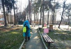 Шепетівський парк дезінфікують