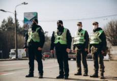 Військовослужбовці Нацгвардії несуть службу на стаціонарних постах столиці