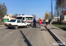 Внаслідок ДТП у Судилкові травмувалась 52-річна велосипедистка