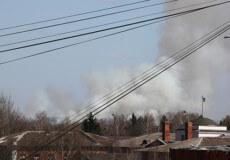 Рятувальники Шепетівщини ліквідували пожежу площею кілька гектарів