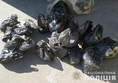 У 49-річного мешканця Старокостянтинова поліцейські знайшли 8 кілограмів канабісу