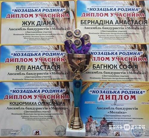 Карантин не на заваді бандуристам Шепетівщини: вони виборюють нагороди дистанційно
