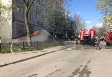 У Нетішині пожежа магазину автозапчастин завдала збитку на пів мільйона гривень