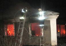 Шепетівські вогнеборці врятували з пожежі літнього чоловіка