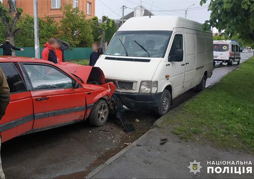 У Шепетівці внаслідок ДТП травмувалися водій та пасажирка