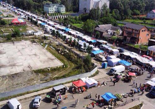 Суботній ринок у Шепетівці відновить свою роботу