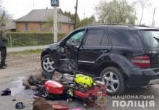 Водій позашляховика смертельно травмував 62-річного пенсіонера