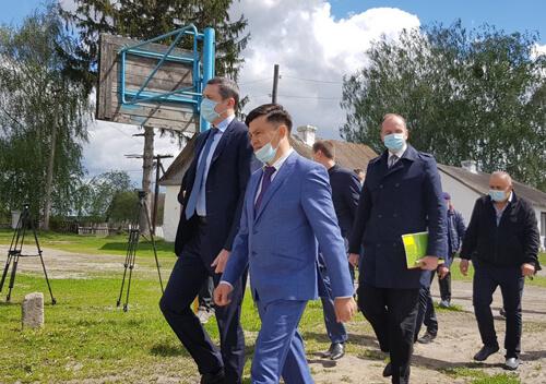 Міністр розвитку громад та територій України відвідав Корчик