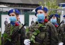 Ряди нацгвардійців Хмельницького поповнили жінки