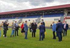 На Хмельниччині Міністр відвідав стадіон вартістю понад 22 мільйони гривень
