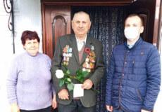 У Шепетівці привітали 14 учасників Другої світової війни