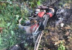 У Шепетівці 49-річний мотоцикліст унаслідок ДТП отримав 50% опіків тіла