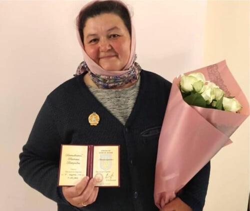 Нагороду «Мати-героїня» отримала ще одна мешканка Шепетівщини