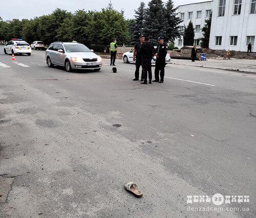У Шепетівці на пішохідному переході збили жінку (Оновлено)