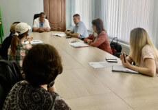 У Нетішині обговорили створення на базі дошкільного закладу групи з особливим харчуванням
