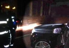 У Шепетівці підпалили Mercedes-Benz
