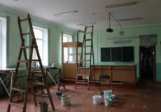 У Славуті кипить ремонт у навчальних закладах