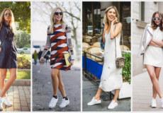 Кросівки з сукнею— модний тренд літа