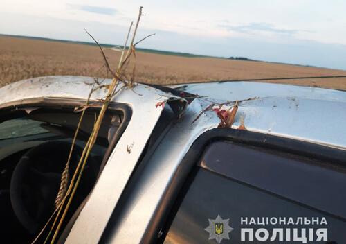 У Білогірському районі через перекидання автівки загинув 59-річний водій