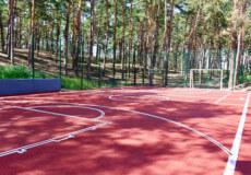 У Нетішині облаштовують спортмайданчик, який вартує понад мільйон гривень