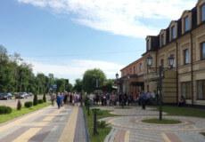 У карантин шепетівчани створили ажіотаж поблизу приміщення «Шепетівкагаз»