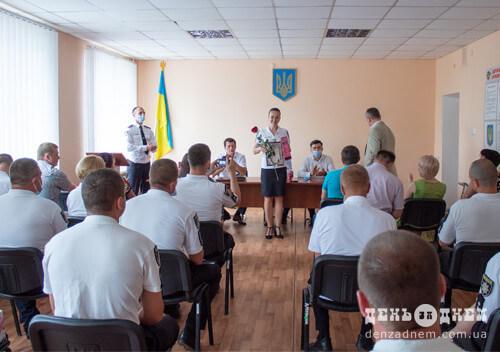 Шепетівські правохоронці приймали вітання з нагоди ювілею створення поліції