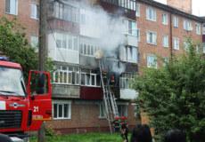 У Шепетівці в центрі пролунав вибух і загорівся балкон