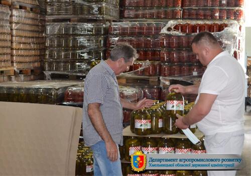 «Сатанівський консервний завод» свої закруткиекспортує у Китай, Ізраїль, Канаду
