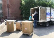 Шепетівська та інші лікарні Хмельниччини отримали нові апарати ШВЛ виробництва США