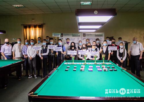 У Шепетівці стартував чемпіонат України з більярдного спорту