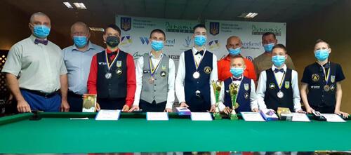 У Шепетівці завершився чемпіонат України з більярду — визначено переможців