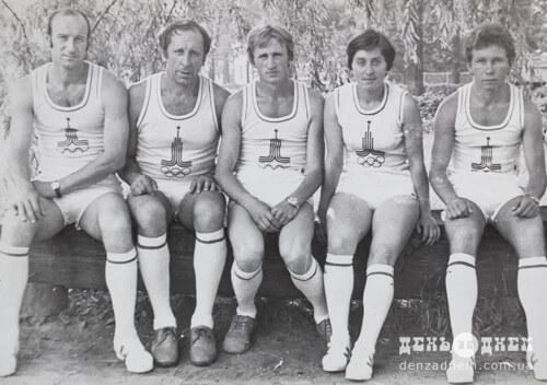 Під час олімпіади у 1980-му Василь Приходько біг у складі естафети на Хмельниччині