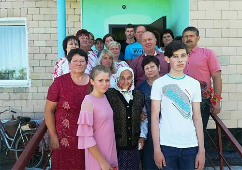 Довгожителька з Коськова багата людина: у неї 7 онуків та 10 правнуків