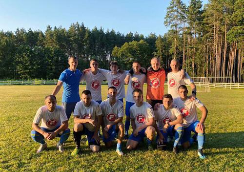 Команда «Фортуна» стала чемпіоном Шепетівки з футболу 8х8 серед чоловічих команд