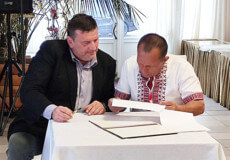 Мер Старокостянтинова підписав меморандум з чеською компанією ELEKTROMONTÁŽE SÝKORA