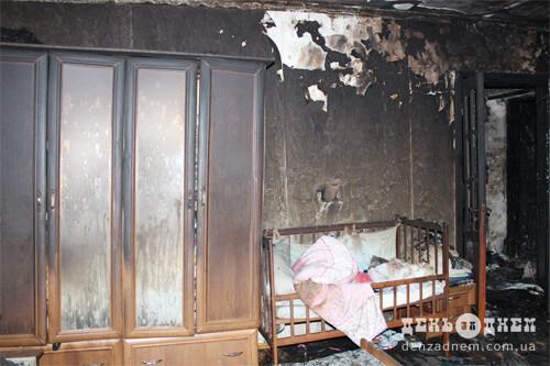 У Шепетівці внаслідок пожежі обгоріла 11-річна дівчинка, за її життя борються лікарі