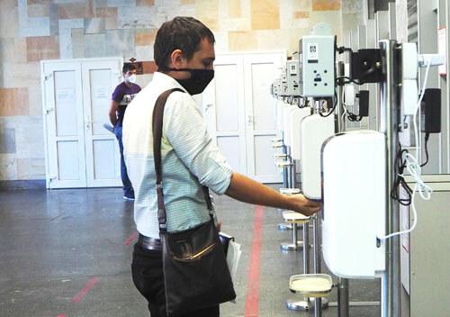 На Хмельницькій АЕС встановили безконтактні термосканери вітчизняного виробництва