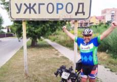 Житель Хмельниччини під час велопробігу «намотав» Україною 1500 кілометрів