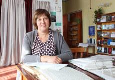 Світлана Пекар змінила професію вихователя набібліотекаря