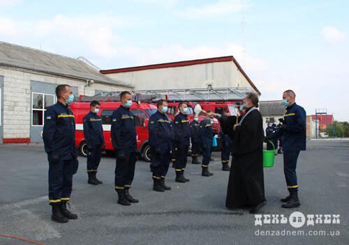 Шепетівських рятувальників віншували з нагоди професійного свята